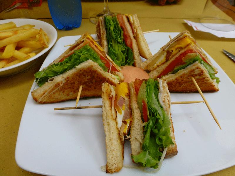 club sandwich m27 via mazzini verona