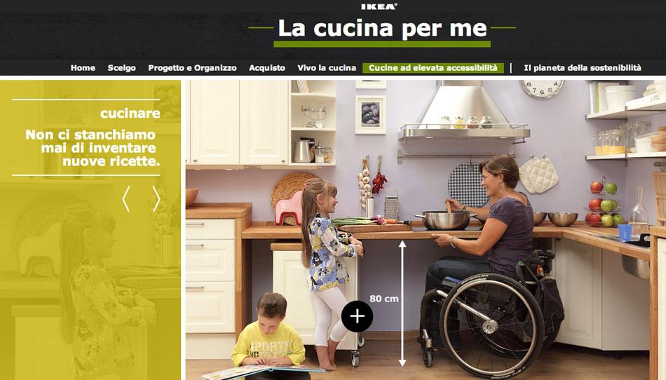 Ikea: cucine ad alta accessibilità | disMappa per Verona accessibile