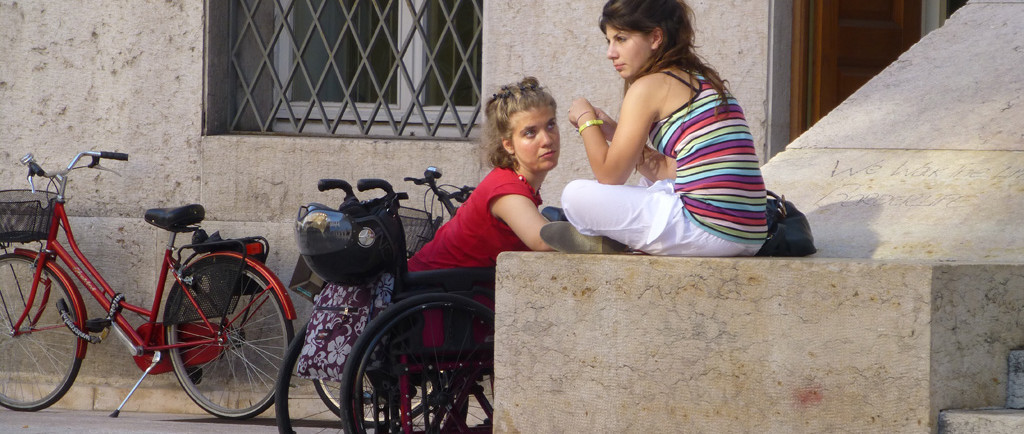 palazzo barbieri verona amiche disabilità carrozzina