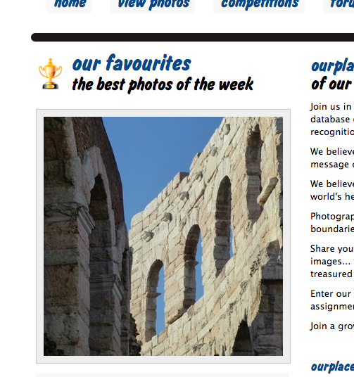 our place best photo of the week arena dismappa