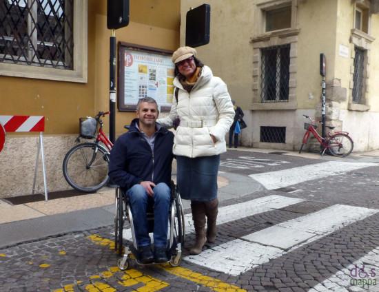 coppia turisti a Verona