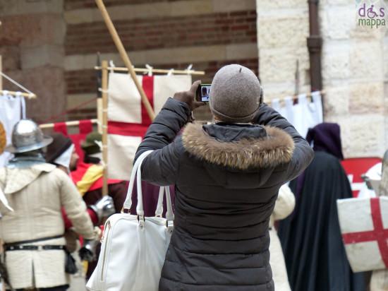 verona foto piazza mercato vecchio medioevo