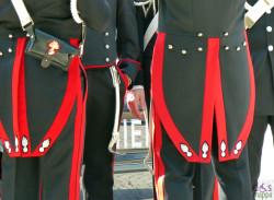 divise da cerimonia dei carabinieri, in piazza bra per il 25 aprile