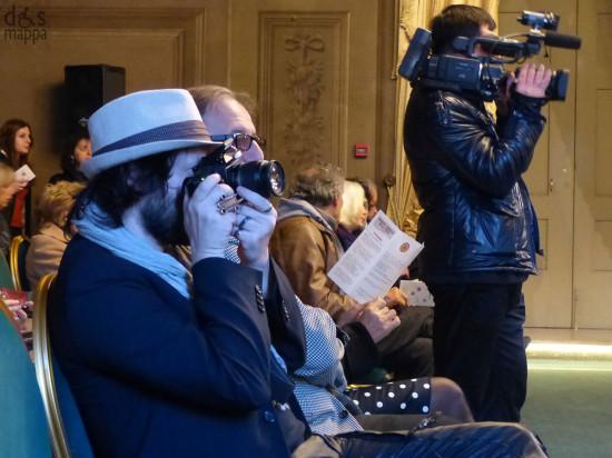 fotografo e videoperatore in sala maffeiana a Verona