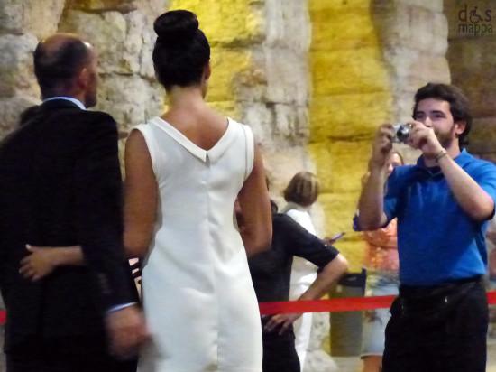 foto di coppia elegante in arena