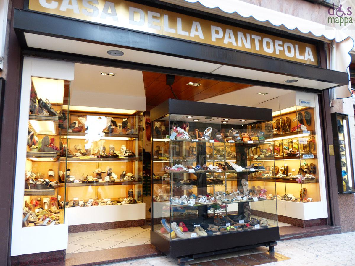 accessibilita negozio verona casa pantofola dismappa per