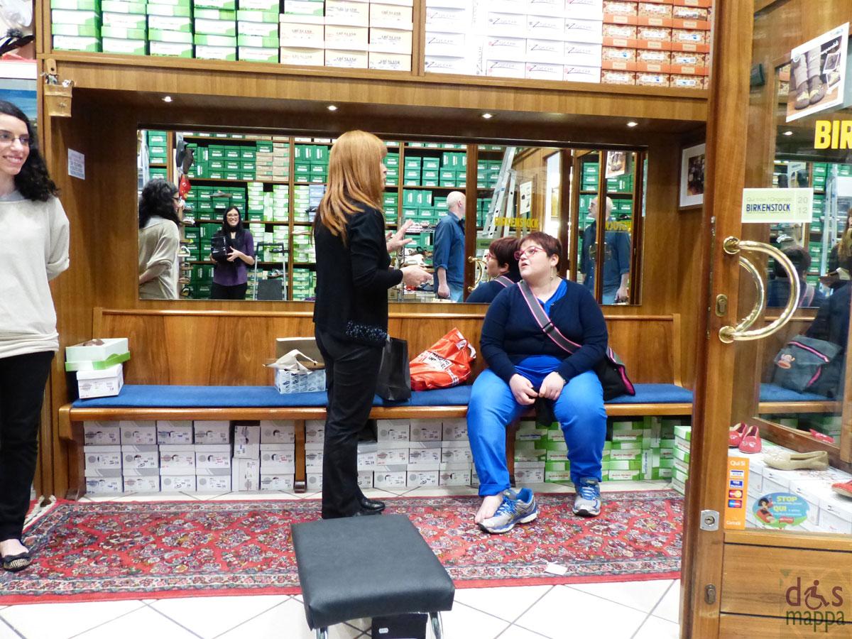 Accessibilit casa della pantofola dismappa verona for Negozi di arredamento verona