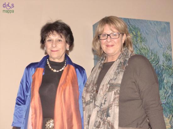 Simonetta Agnello Hornby e Cinzia Albertini a Verona