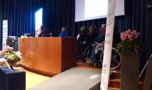 Lo scivolo per il palco della sala conferenze
