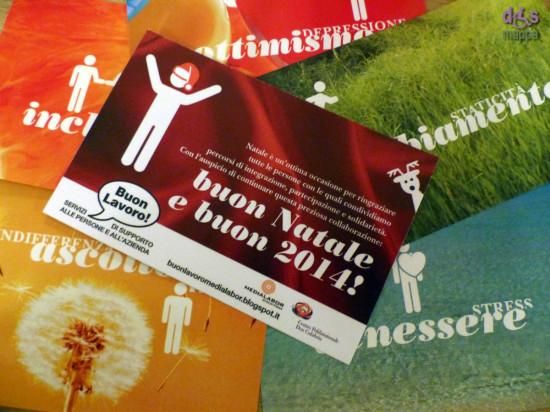 La cartolina di Natale e le altre allegre cartoline di Buon Lavoro