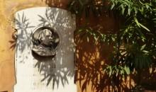 Il busto di Angelo Messedaglia nel cortile dell'Accademia di Scienze e Lettere