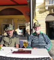 Colazione alpini raduno triveneto 2014 Piazza Bra Verona