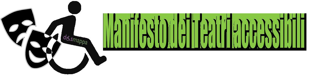 Manifesto dei Teatri accessibili Associazione disMappa