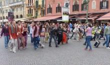 Jesus Christ Superstar: Flash Mob in Piazza Bra