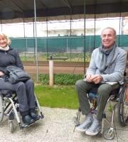 Gabriella Fermanti e Aldo Orlandi presidente GALM Verona