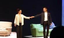 Applausi per Chiara Caselli e Paolo Valerio