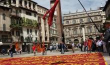 La bandiera di San Marco in versione gigante