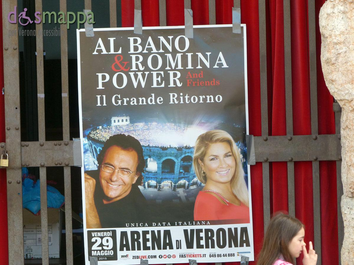 Al Baño Piazza Grande:Al Bano e Romina Power live all'Arena di Verona
