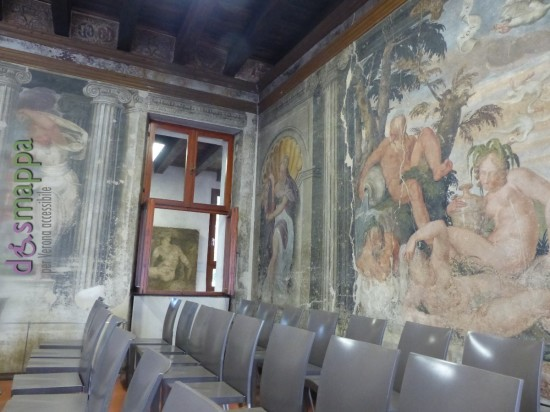 20160229 Accessibilità disabili Museo Affreschi Verona dismappa 657