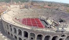 Verona vista dai droni