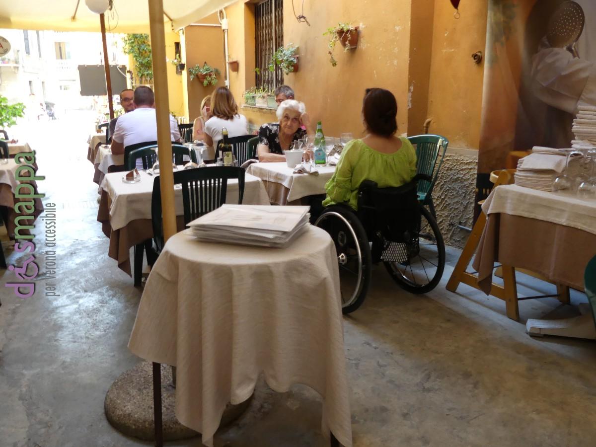 Accessibilità disabili Ristorante S. Eufemia  disMappa - Verona ...