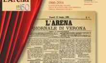 Il quotidiano L'Arena festeggia 150 anni al Teatro Nuovo