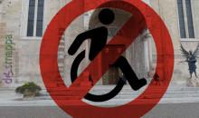 La Cattedrale torna a escludere i disabili