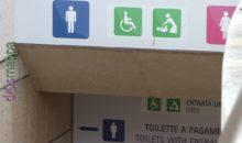 Bagno disabili pubblico e gratuito in Piazza Bra
