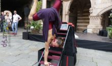 Gaby Corbo acrobatica per Accessibile è meglio