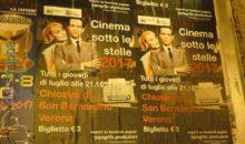 Cinema sotto le stelle 2017