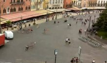 Piazza Bra sempre più in real time con le nuove streaming webcam