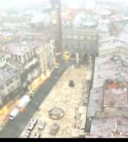 20170113 Neve Piazza Erbe Verona webcam