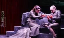 Luca Lazzareschi e Gaia Aprea in Macbeth