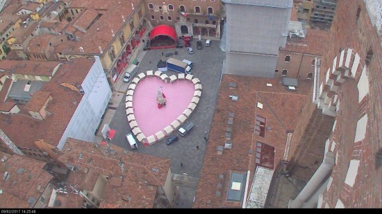 20170209 Cuore Verona in love webcam