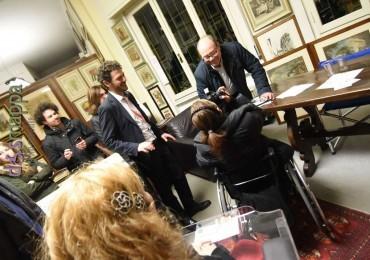 L'attore e regista Carlo Verdone (a Verona per Love Film Fest) testimone di accessibilità per dismappa.