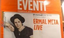 Ermal Meta, da Sanremo a La Feltrinelli
