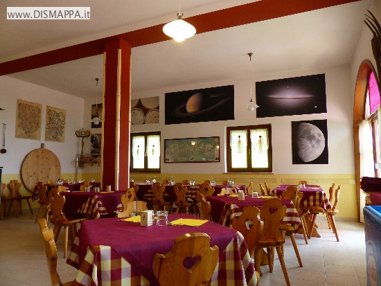 Il ristorante del rifugio Novezzina
