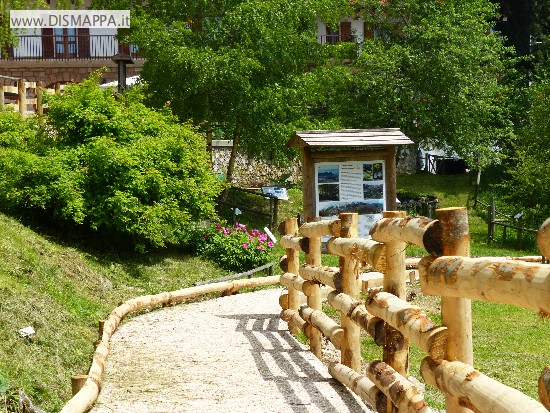 Accessibilità Orto botanico del Monte Baldo a Novezzina - Giardino d'Europa