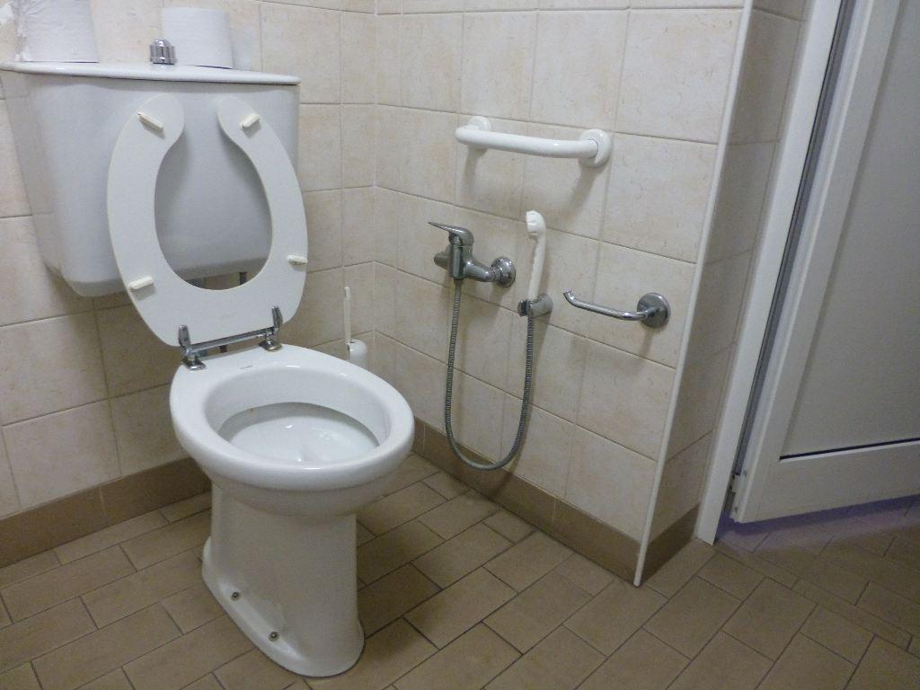 Altezza maniglione wc disabili vaso wc ceramica con sedile copri